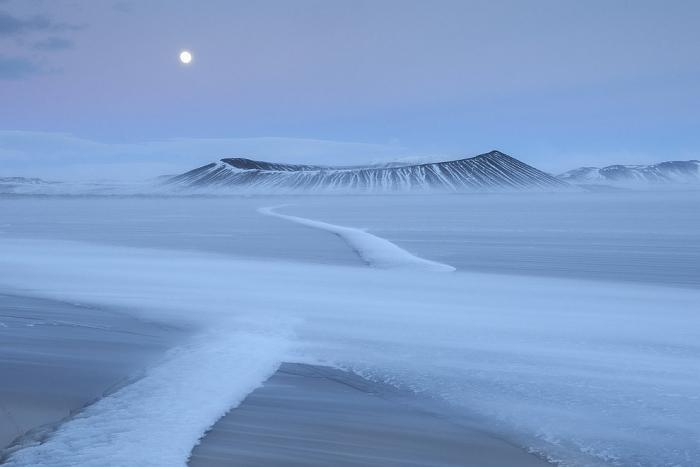 Номинация: «Пейзаж». Автор: Урсула Хааберг. Название: Гора Хверфьялл.